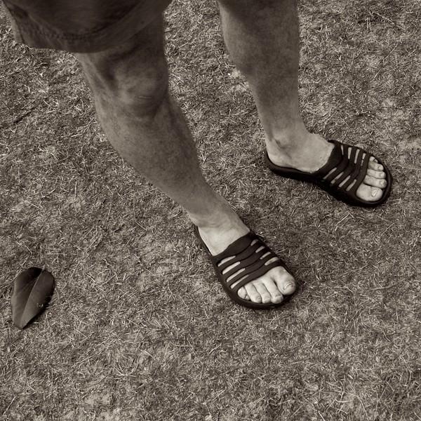 Phillip in $20 sandals - 3