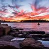 Sunset in Sydney.