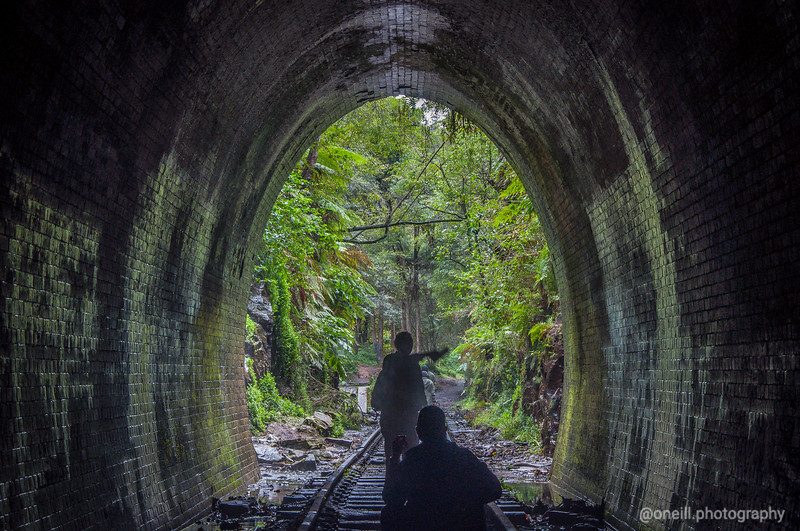 The Helensburg Tunnel, NSW, Australia