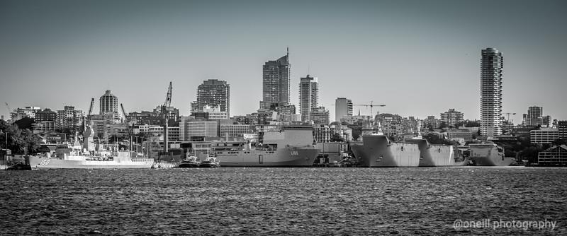 B&W Navy