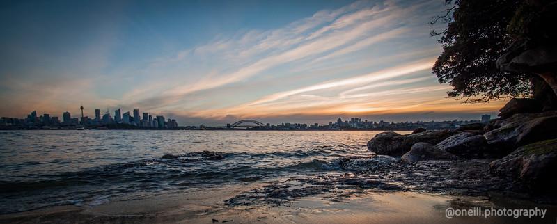 Bradley's Beach Sunset