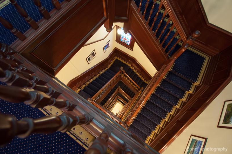 Hong Kong House Stairs