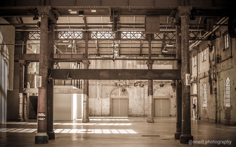 Inside Carriageworks