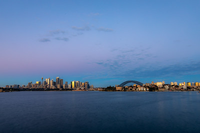 Sydney Harbour early morning