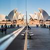 Reflection of Sydney Opera House.