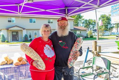 Kris Kringle and Mrs. Santa