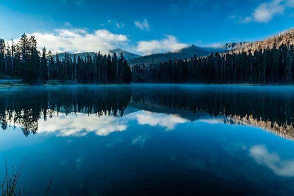 Sylvan & Yellowstone Lakes