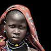 Portrait of a Topossa girl, Kapoeta