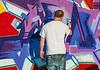 101212 - 5322 Graffiti Artist At Work