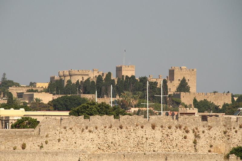Rhodes Old Town castle.