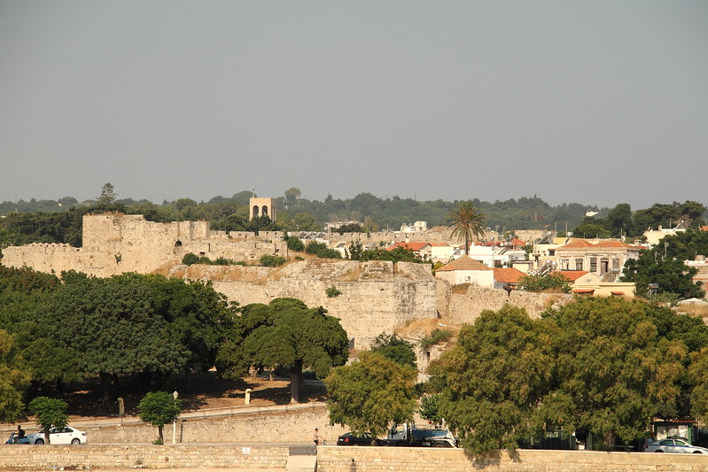 Rhodes Old Town walls.