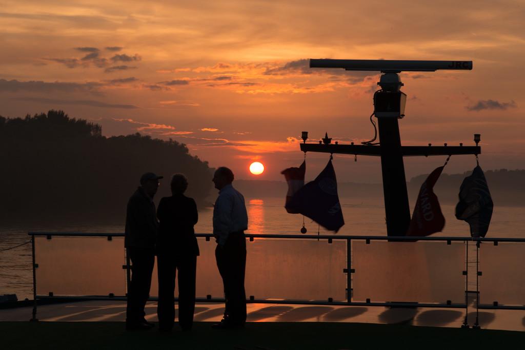 Sunset on the Danube-Amadeus Diamond