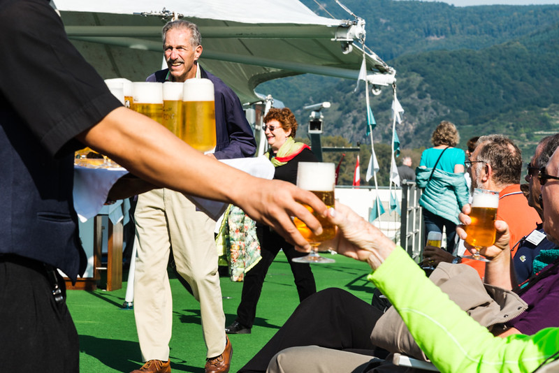 Beer and Austrian Music on the Amadeus Diamond