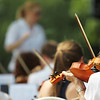 Symphony Orchestra Play in Summer