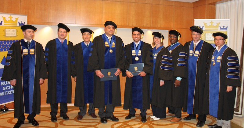 Doctoral Group Symposium Photo of Graduates - Dubai May 2013