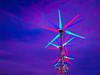 Wind turbines, Palm Springs, California, 1995