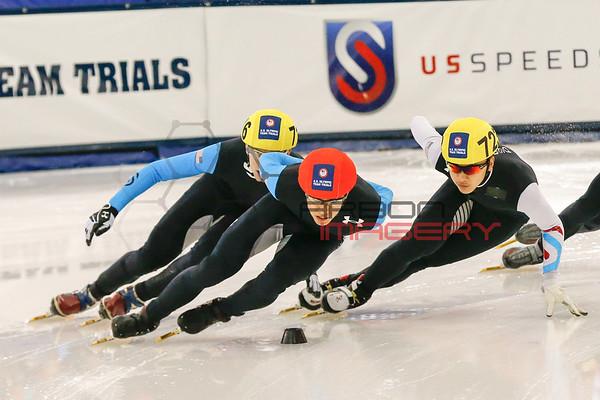 Short Track Speedskating: U.S. Olympic Trials-1000m