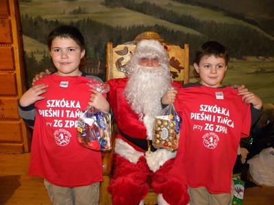 Mikołaj w Szkółce
