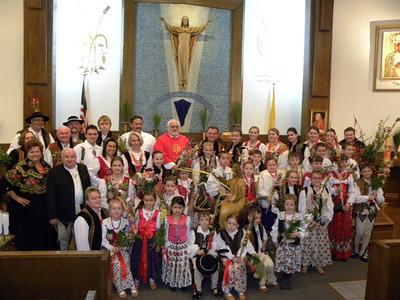 Szkółka Pieśni i Tańca oraz Palmy Wielkanocne