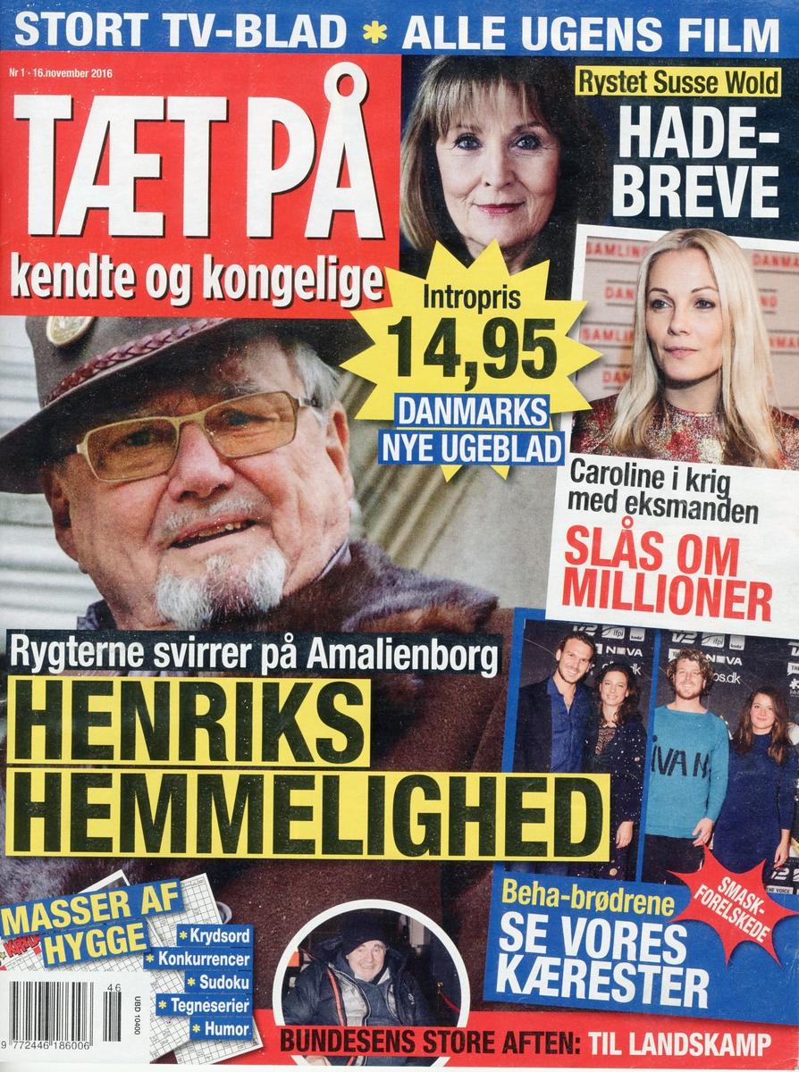 TÆT PÅ - KARSTEN REES NYE  UGEBLAD