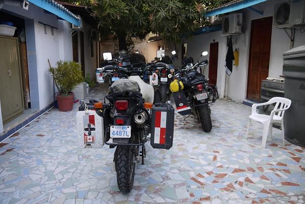 Bikes at Hostel Amber