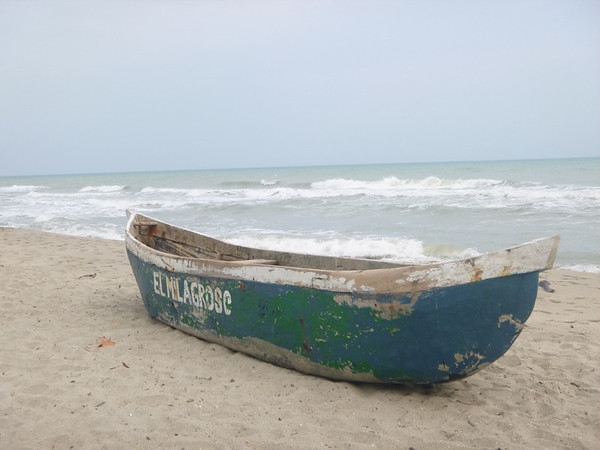 A fishing boat