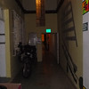 Parked in the hallway of Yakumama Hostal