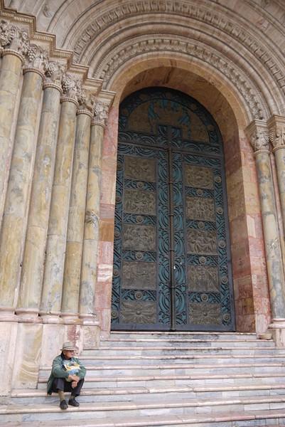 Old Cathedral, Cuenca, Ecuador