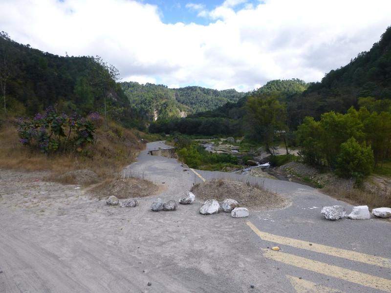 Back route to Antigua, Guatemala