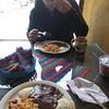 Breakfast in Coban
