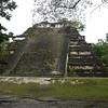 The oldest temple in Tikal