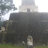 Jenn in front of Templo II