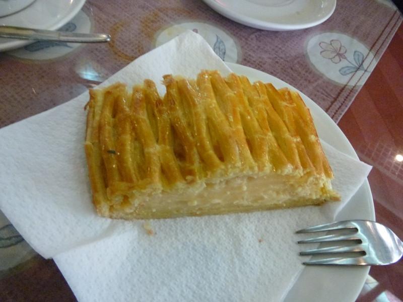 Pineapple custard pastry