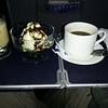 Bailey's, ice cream, and coffee