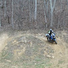 Matt tears up a quad hill loop