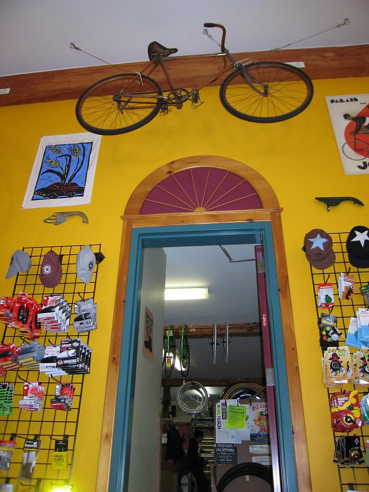 42 Doorway with Vintage Bike
