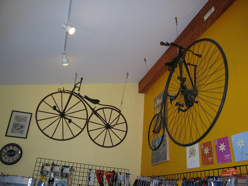 30 Vintage Bikes in Northeast Corner