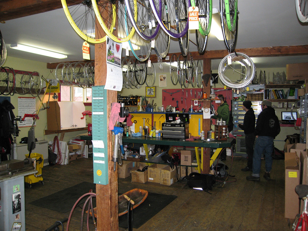 42 Repair Shop from Doorway