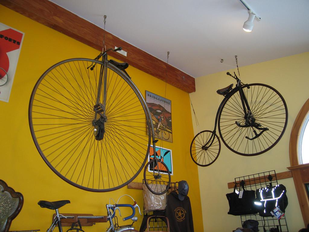 32 Vintage Bikes in Southeast Corner
