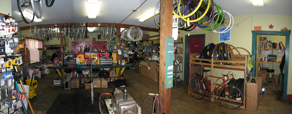 44 Pan of Repair Shop