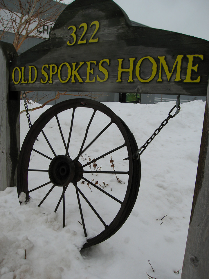 01 OSH Sign and Snow