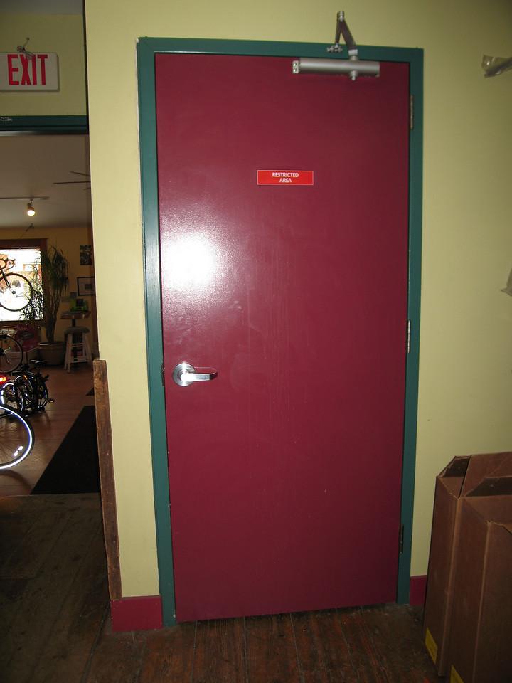 51 Door to Attic Stairwell and Museum