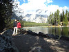 Leigh Lake...a 2 mile hike through Bear country....woot!