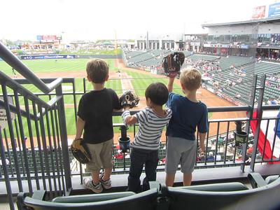 Baseball with the boys