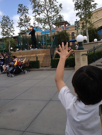 Disneyland May 2013