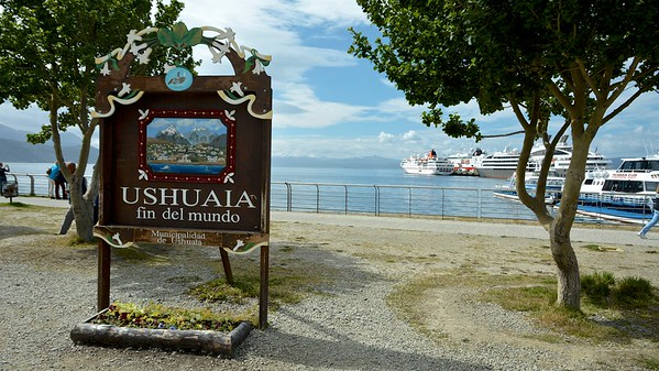 Puerto Ushuaia, Argentina, the End of the World