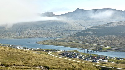 Streymin Bridge : Streymoy - Eysturoy