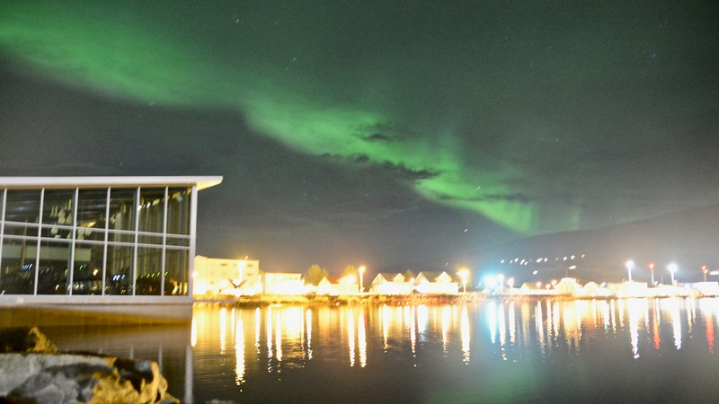 Akureyri  - Northern Lights