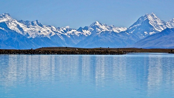 Look out to Mount Cook