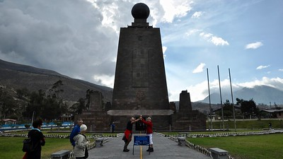 Equatorial Monument - the Middle of the World